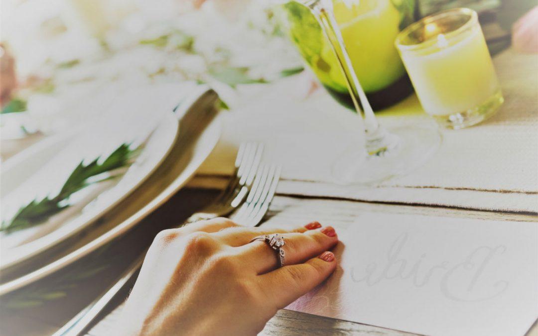 Le chemin de table, mon indispensable déco de mariage